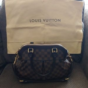Authentic Louis Vuitton bag with dust bag